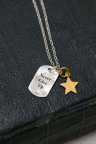 CAL Never Give Up Necklace