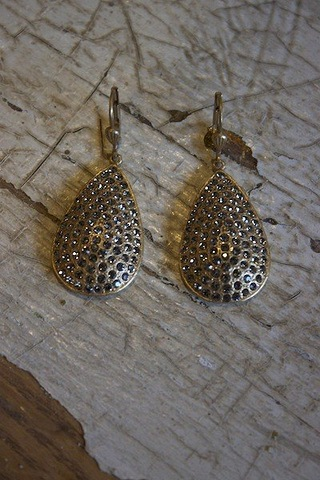 Black Diamond Pave Teardrop