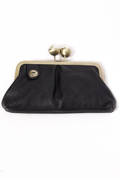 Darling Black Christie Clutch