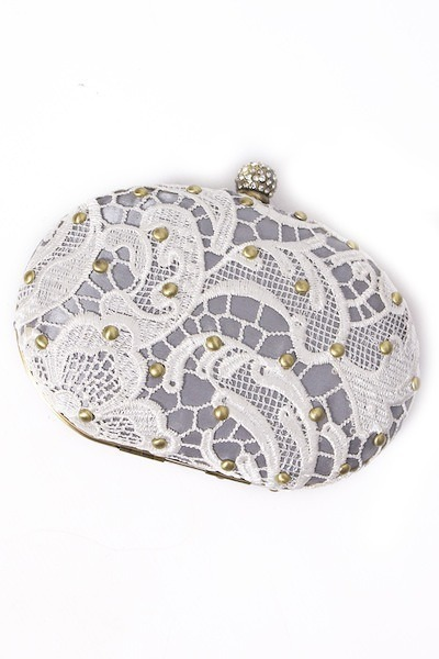 Darling Champagne Willow Clutch