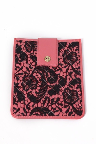 Darling Elodie Coral Ipad Case