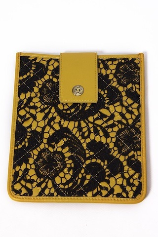 Darling Elodie Mustard Ipad Case