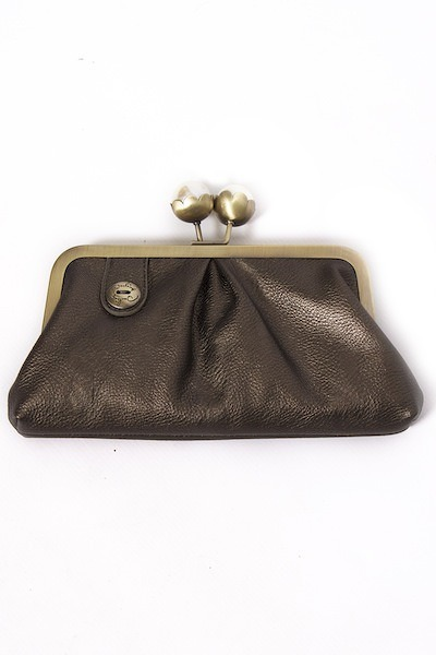 Darling Metallic Christie Clutch