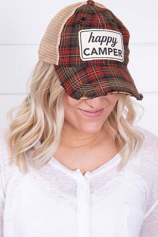 Live Happy Co. Happy Camper Hat