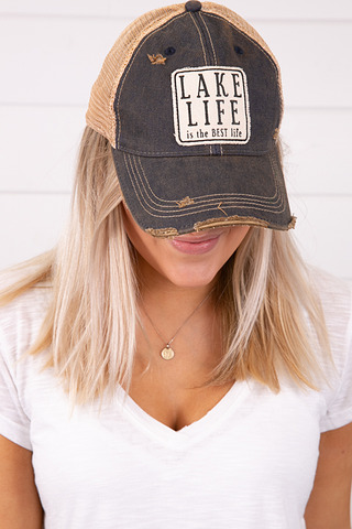 Live Happy Co. Lake Life Hat