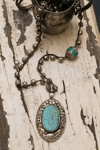 Turquoise Statment Necklace