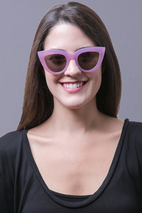 Quay Eyewear Australia Kitti Purple