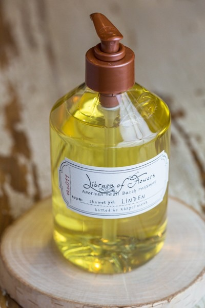 Library of Flowers Linden Shower Gel