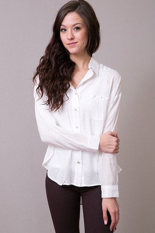 Cameo Ivory Button-Up