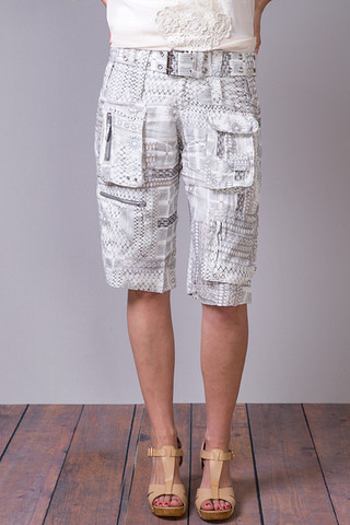 Pete & Greta Lyric Cargo Shorts