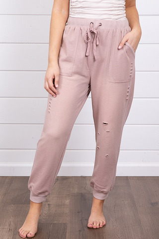 Mystree Mineral Washed Jogger