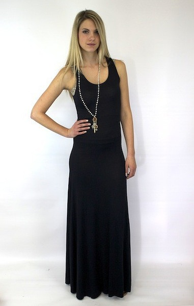 Elan International Black Maxi Racerback