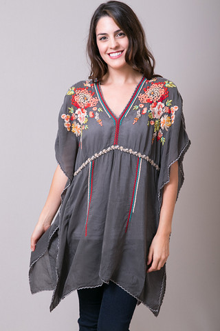 Johnny Was Collection Cherise Poncho