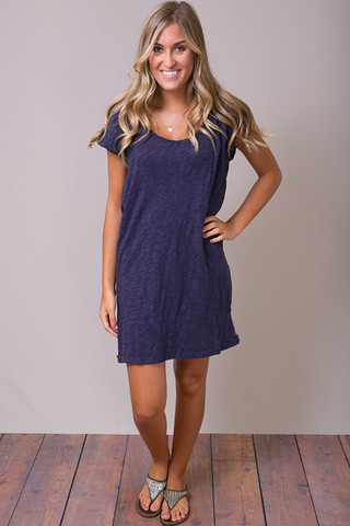 Knot Sisters The Plunge Tee Dress