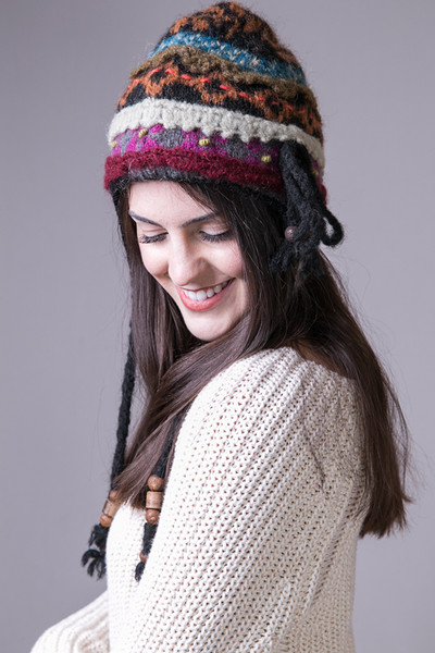Nila Earflap Hat | Hat | French Knot Designs