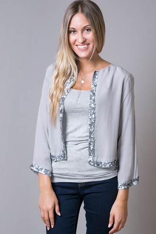 Ivy Beaded Blouse