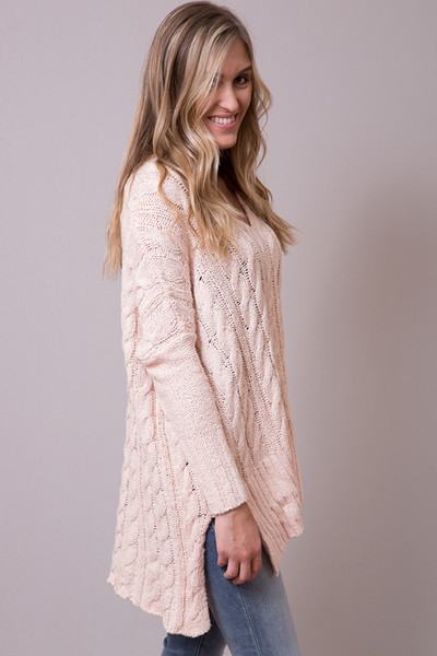 Free People Easy Cable Sweater 2
