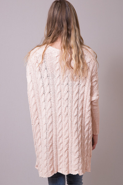 Free People Easy Cable Sweater 3
