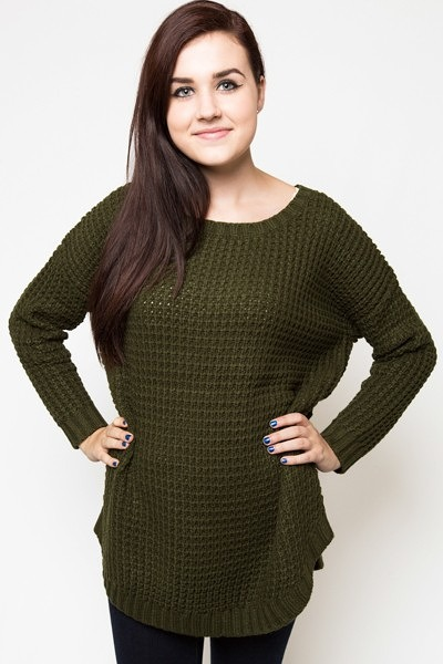 Knot Sisters Purba Sweater Green