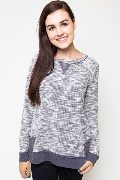 Mystree Pleasantly Purple Pullover