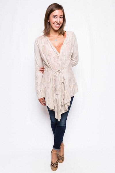 Odd Molly Timeout Wrap Cardigan