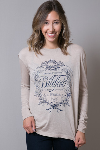 WILDFOX Couture Paris Country Crest
