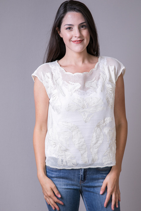 Mystree Tucan Knit Top