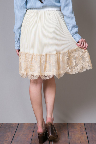 Hazel Lacey Pleat Skirt 2