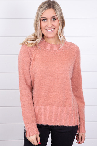 Knot Sisters Rose Bunni Sweater