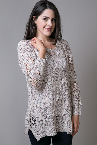 Mystree Textured Thread Sweater