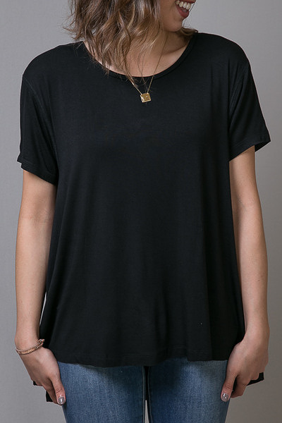 Mystree Swing Tee Black 3