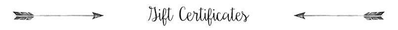 Gift Certificates | PB&J Boutique