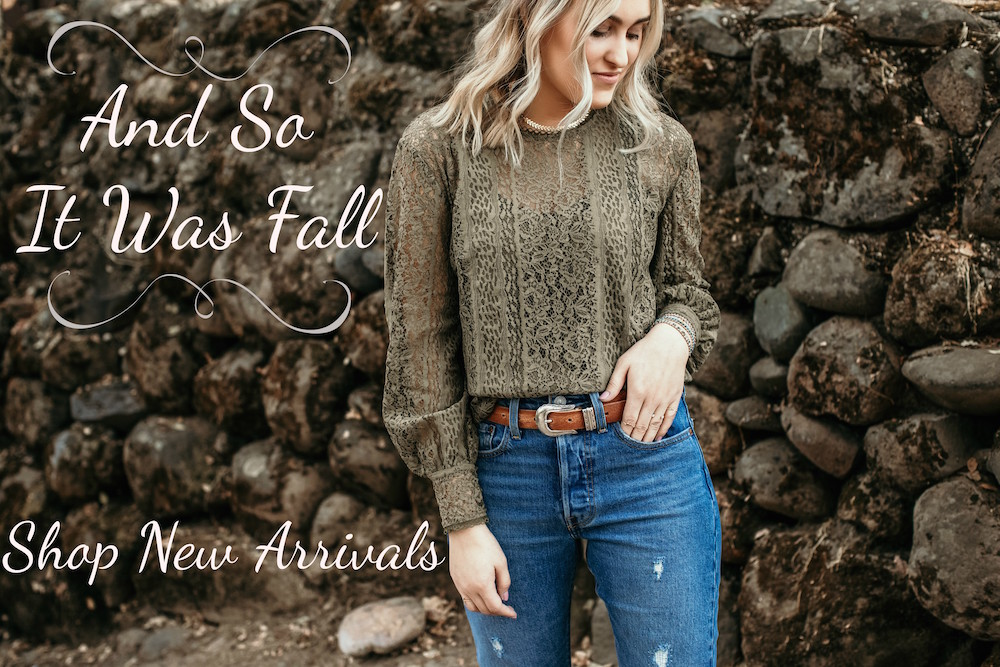 Fall 2018 New Arrivals