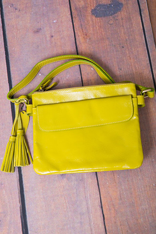 Fredd & Basha Alexa Double Zip Lime