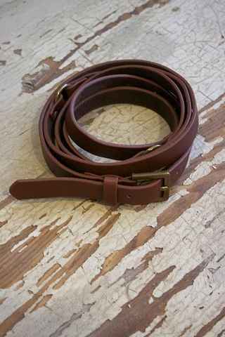 Rachel Pally Leather Wrap Belt