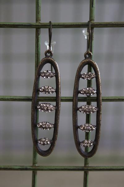 Black diamond drop earrings earring rebel designs for Rebel designs jewelry sale