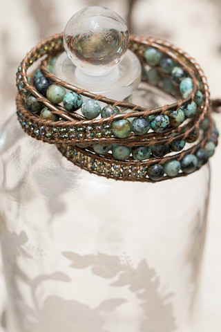 The Lizou Collection Drizzle Wrap Bracelet