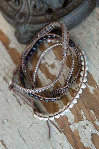 The Lizou Collection Fig Wrap Bracelet