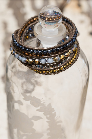 The Lizou Collection Lightning Wrap Bracelet