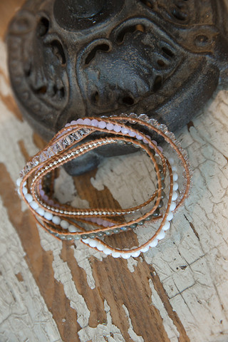 The Lizou Collection Phoenix Wrap Bracelet