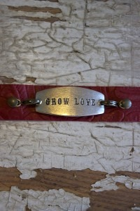Red Grow Love Cuff