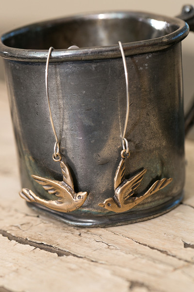 Bronze Paloma Earrings