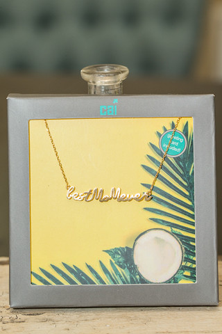 CAI Best Mom Ever Necklace