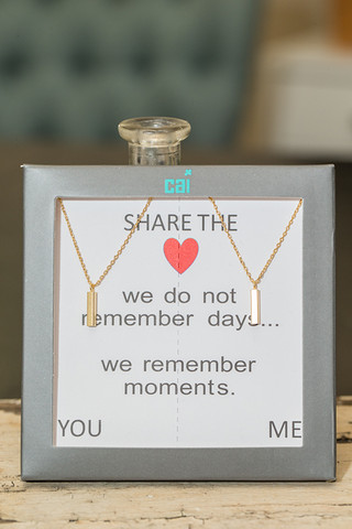 CAI You and Me Necklace