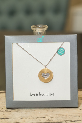 CAI Love is Love Necklace