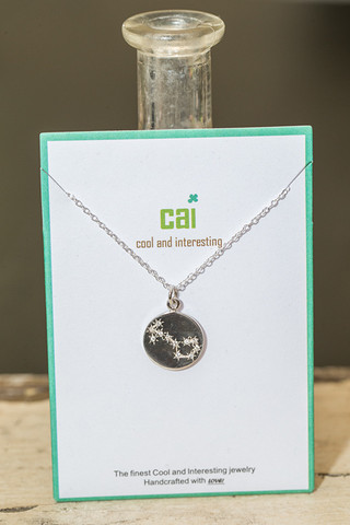 CAI Scorpio Star Necklace