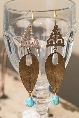 Casa Blanca Earrings
