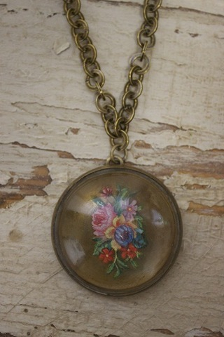 Serendipity Designs by Susan Corsage Necklace