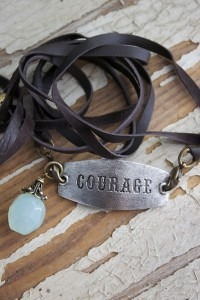 Courage Fringe Wrap