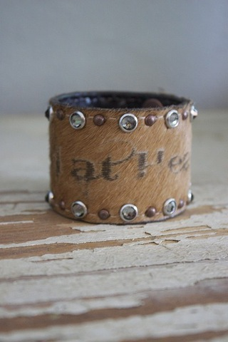 Double J Saddlery Cowgirl at Heart Cuff